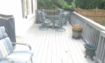 The old wood deck