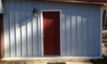 The new siding is clean and sleek and requires very little maintenance