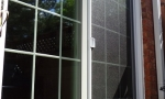 Durante patio doors are customer made to fit most any space no matter how large.