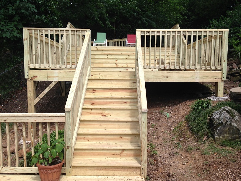 The Deck That Conquered The Hill
