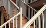 New vinyl handrails