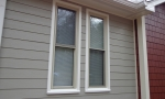 James Hardie offers clean lines for a nice finished look