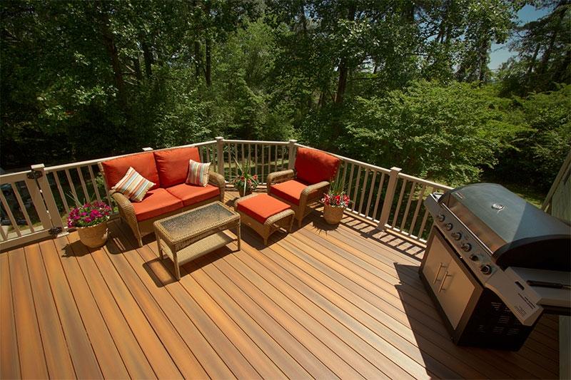 Composite Deck Durante Home Exteriors