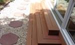 composite steps are virtually maintenance free