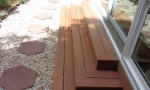 composite steps are virtually maintenance free