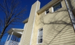 new siding- CLEAN LINES look so sharp!