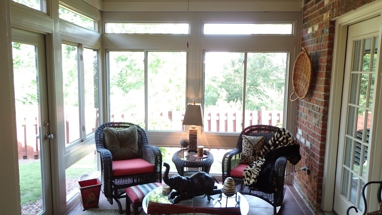 Mrs Guthrie S New Durante Home Exteriors Sunroom