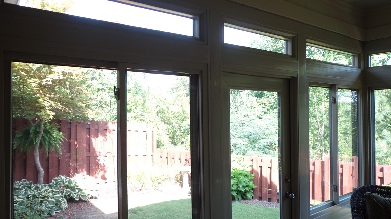 Mrs. Guthrie's New Durante Home Exteriors Sunroom