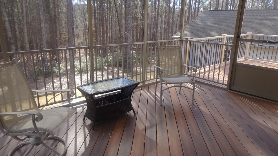 Deck + Screen Room Combo