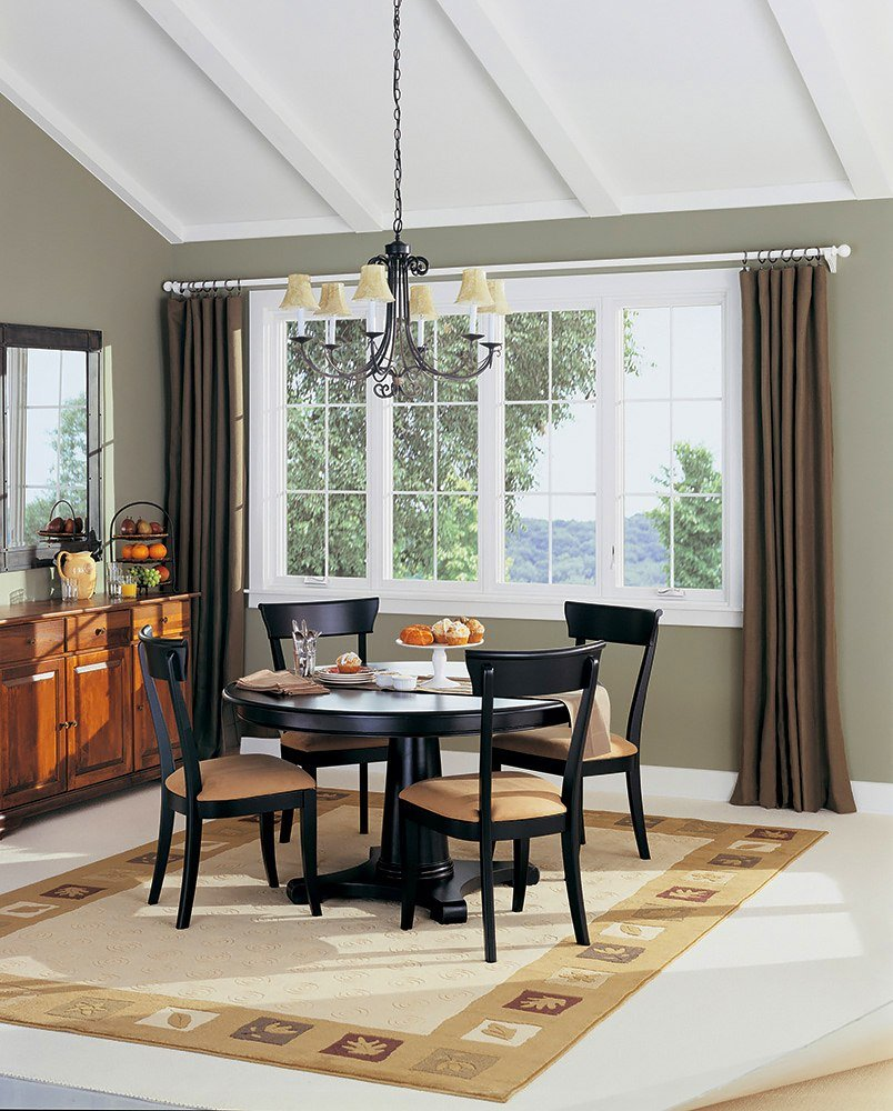 Window Treatment For Dining Room: Replacement Windows Hoover