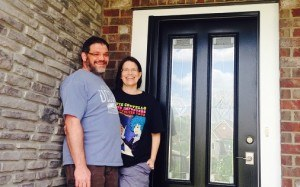 The Letsons love their new Durante Door!