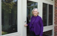 Mrs. Guthrie LOVES her new Durante sunroom!