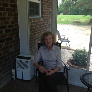 satisfied Durante sunroom customer